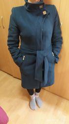 Пальто кашемир бутылочного цвета
