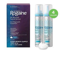 Rogaine Регейн пена для женщин Миноксидил 5 процентов упаковка 2 флакона