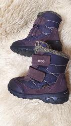 Зимние ботинки  ecco р. 26 экко сапожки