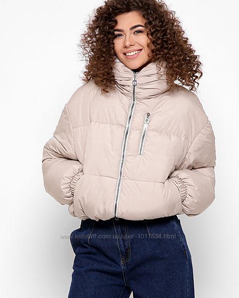 Короткая демисезонная куртка рр.42-48