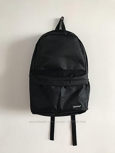 Рюкзак чёрный мужской унисекс