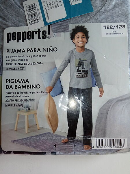 Детская пижама 122/128, 134-140, 146-152