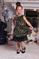 Шикарное нарядное платье Виктория от производителя 104-152р