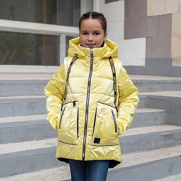 Демисезонная куртка-жилетка Альбина для девочек и подростков