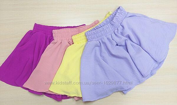 Юбка шорты для девочек 122-158р от производителя