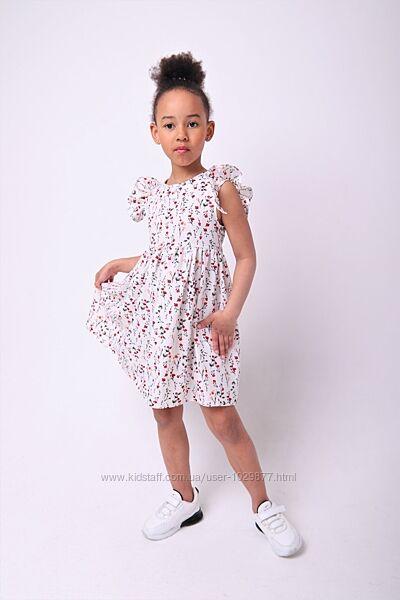 Стильное летнее платье Лилу для девочек 92-134р от производителя
