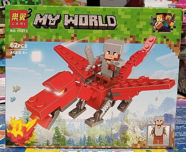 Конструктор Minecraft Майнкрафт Lari 11269