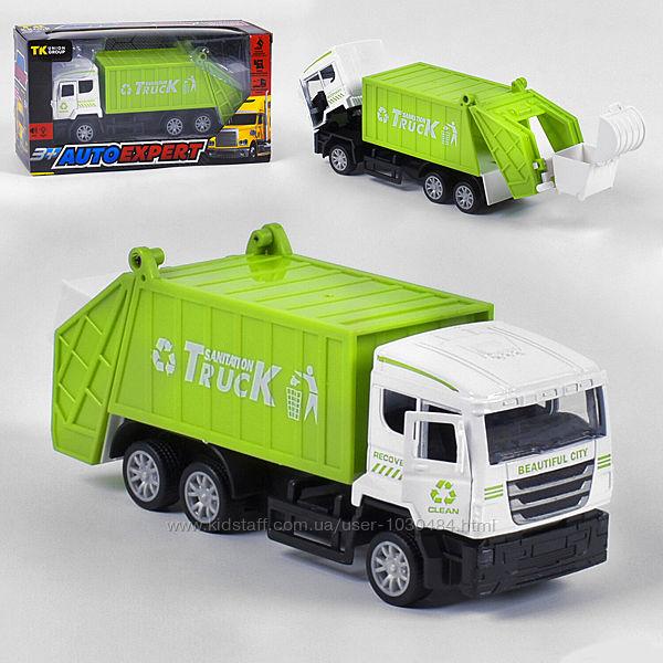 Спецтехника мусоровоз металлопластиковая 0715 Auto Expert
