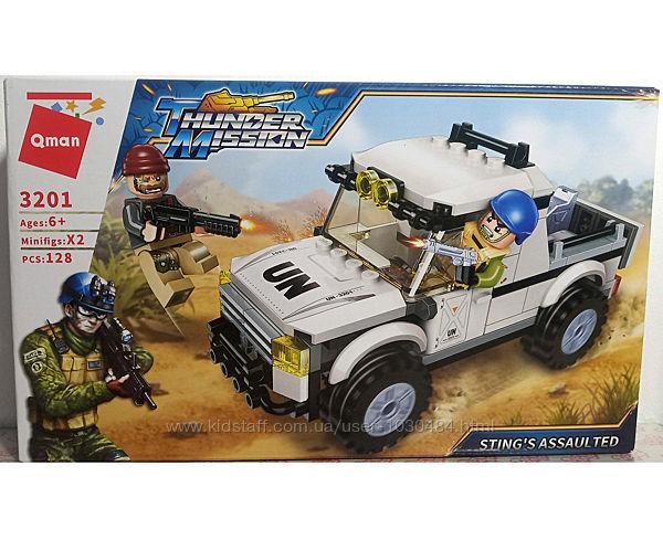 Конструктор Brick 3201, 128 деталей, в коробке