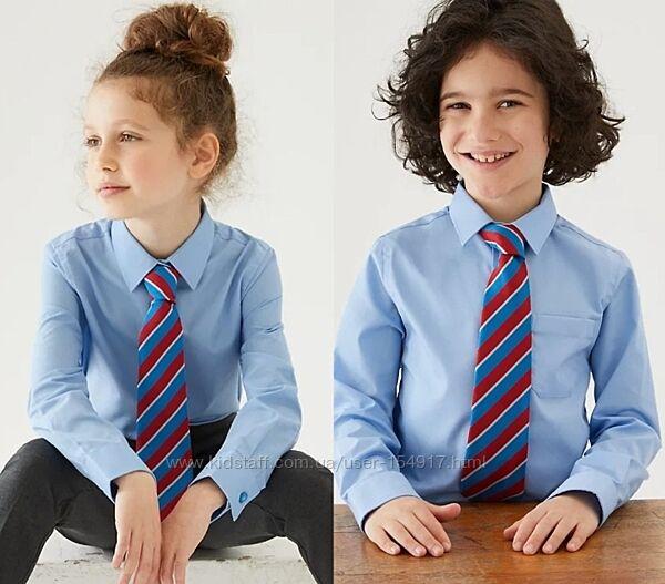 Школьная рубашка marks&spencer р. 8-9 на рост 134 см