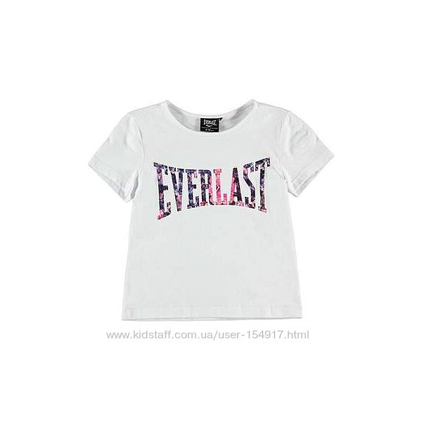 Новая  футболка на девочку Everlast р. XLG 13 лет