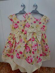 Продам новые платья для сестер 5 лет 8 лет gymboree