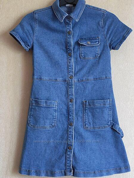 Платье джинсовое Zara на девочку 10 лет