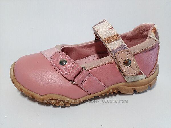 Распродажа - кожаные туфли Beeko 24, 25, 30 р. два цвета