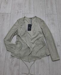 Пиджак из кожи Milestone размер М оригинал