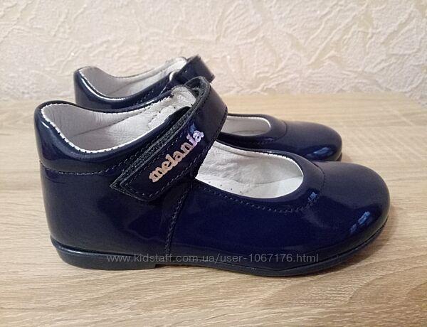 Туфли Melania из лаковой кожи
