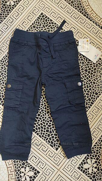 Новые хлопковые штанишки Topomini 92cm