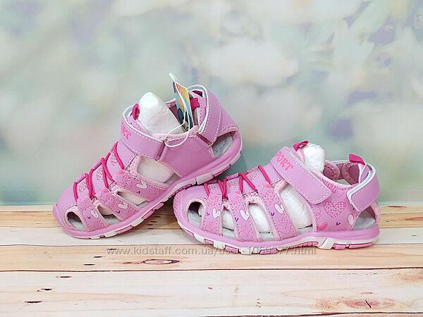 Спортивні дитячі сандалі босоніжкі м. мичи на літо закриті р 26-31 283 более