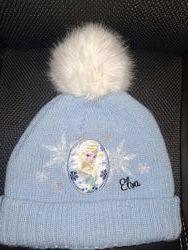 Красивая шапка, шапочка на флисе польская Bos&acuteka на 2-4 года