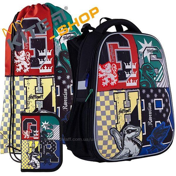 Школьный комплект 3в1  КАЙТ KITE Рюкзак сумка пенал для мальчика