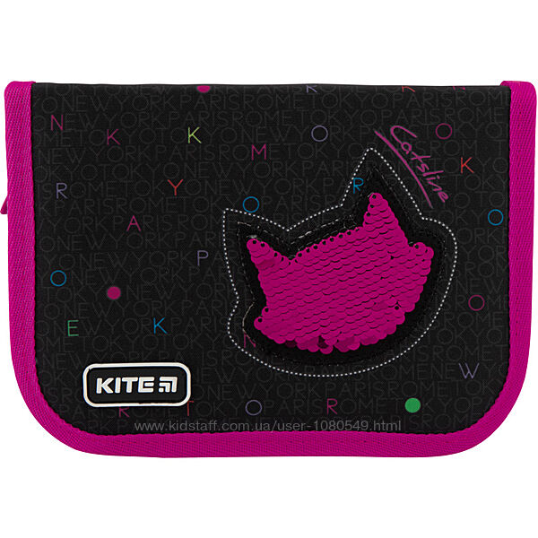 Пенал школьный Kite Education Catsline Для девочки