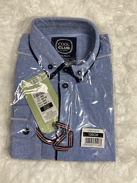 Фирменная рубашка с длинным рукавом ТМ Cool Club