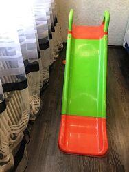 Doloni детская горка долони пластик для дома и улицы дачи