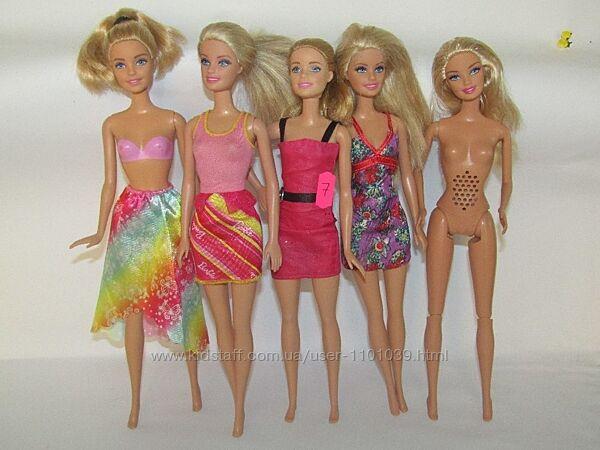 5 кукол Барби одним лотом barbie