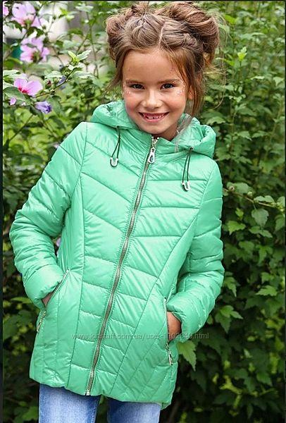 Демисезонная куртка для девочки Жаклин, Майя, Робби НуиВери Размеры116- 128