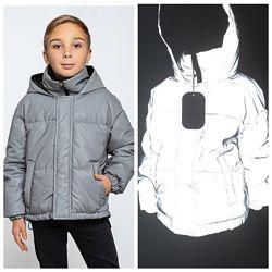Демисезонная куртка, парка для мальчиков тм MyChance, Размеры 134- 164 ТОП