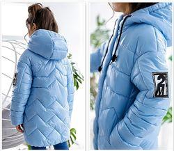 Куртка демисезонная для девочки Джасинта тм Nui Very Размеры 116-158 ТОП
