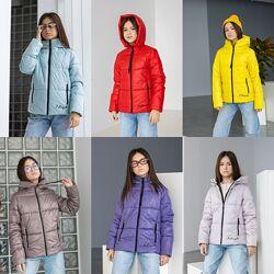 Детская демисезонная куртка на девочку тм Mangelo Камила Размеры 116- 152