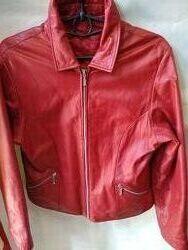 Кожаная куртка  Италия р. 44-46