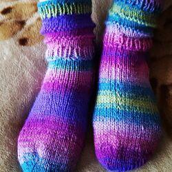 носки вязанные шерстяные