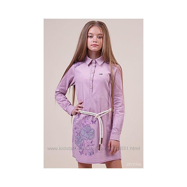 Красивое платье для девочки ТМ Зиронька 64-7005