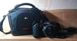 Фотокамера Nikon Coolpix цифроваясумка в подарок