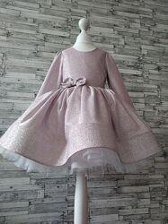 Платье шикарное нарядное оригинальное для девочки на праздники, торжество.