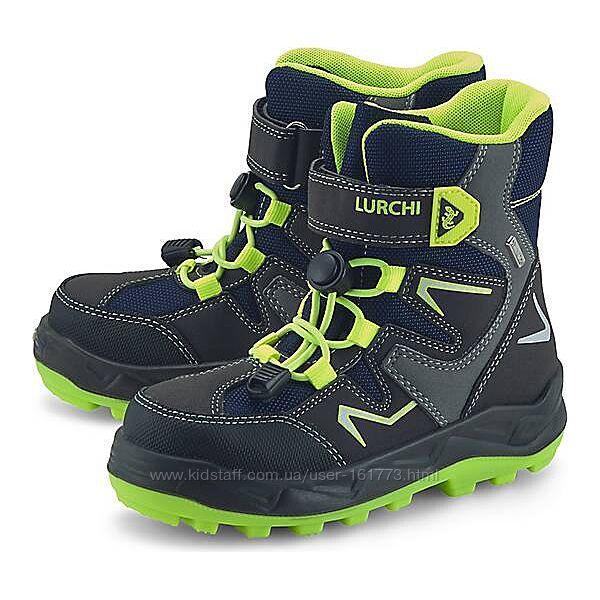Практичні зимові черевички lurchi, 26-27, 33 eur