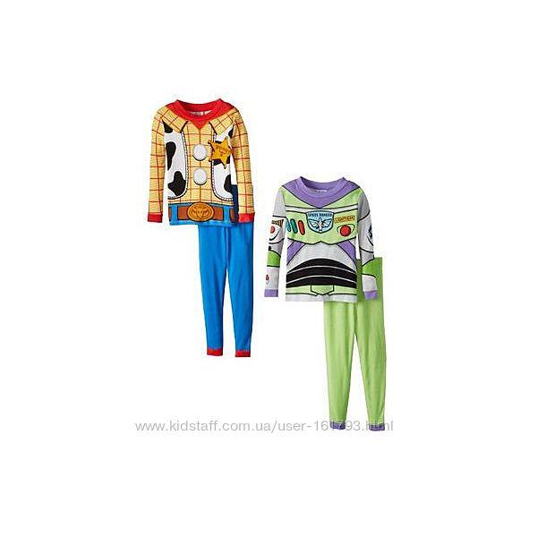 Пижамы новые из США для мальчиков 2-8 лет в наличии