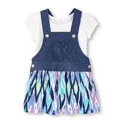 Летние костюмы новые из США для девочек от 2 до 6 лет
