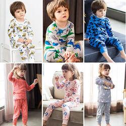Пижамы детские для мальчика и девочку. Эксклюзивные рисунки.
