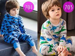 Пижамы детские для мальчика. 10 моделей. Эксклюзивные рисунки. Новинка 2021