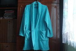 L/xl фирменные очень теплый махровый халат