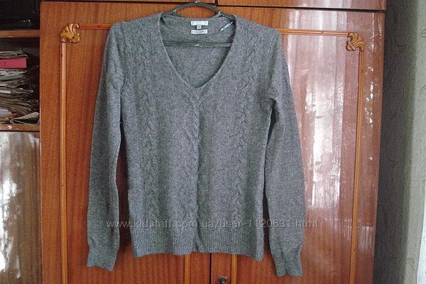 Теплый кашемировый свитер moddison 100 сashmere