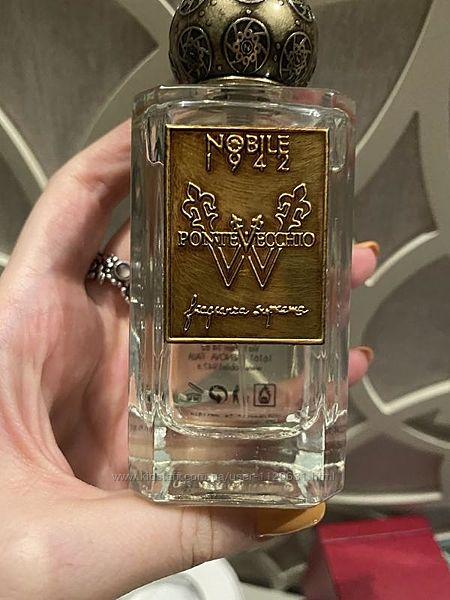 Nobile 1942 pontevecchio , парфюм. вода,75 мл, оригинал