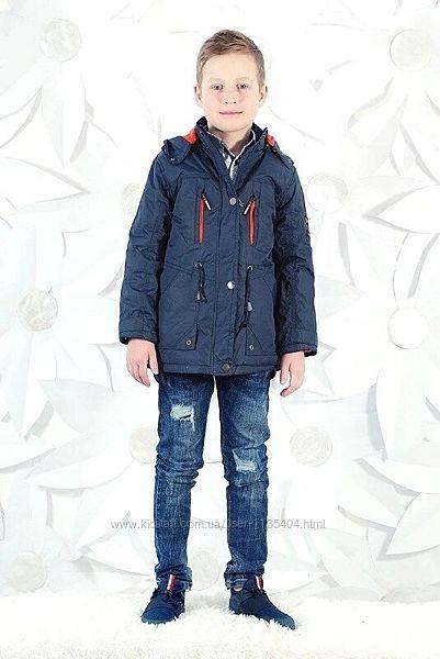 Куртка парка демисезонная для мальчиков 134/140,146/152 Венгрия