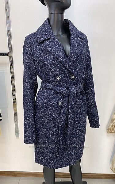 Стильное теплое женское пальто баталы 48-56 размер