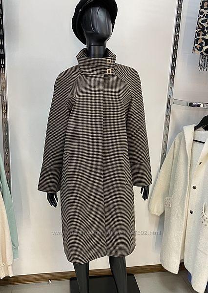 Женское элегантное классическое пальто