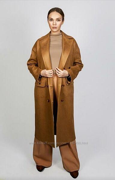 Пальто демисезонное свободного кроя оверсайз