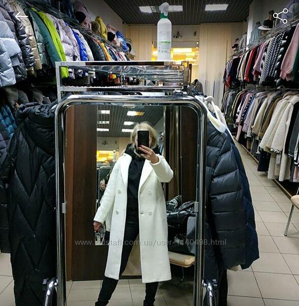 Пальто  альпака демисезонное оверсайз
